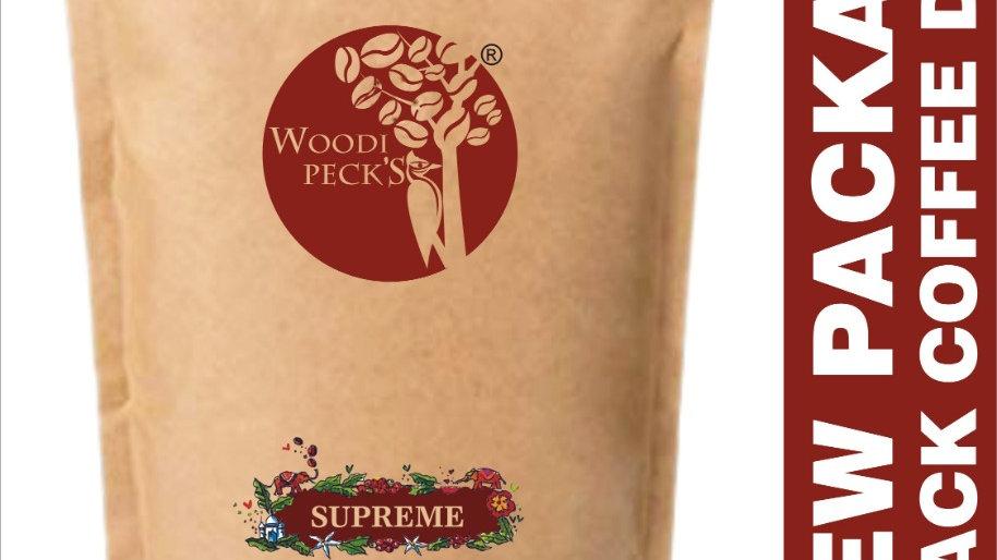Woodi Peck's Supreme black coffee delight - 250g