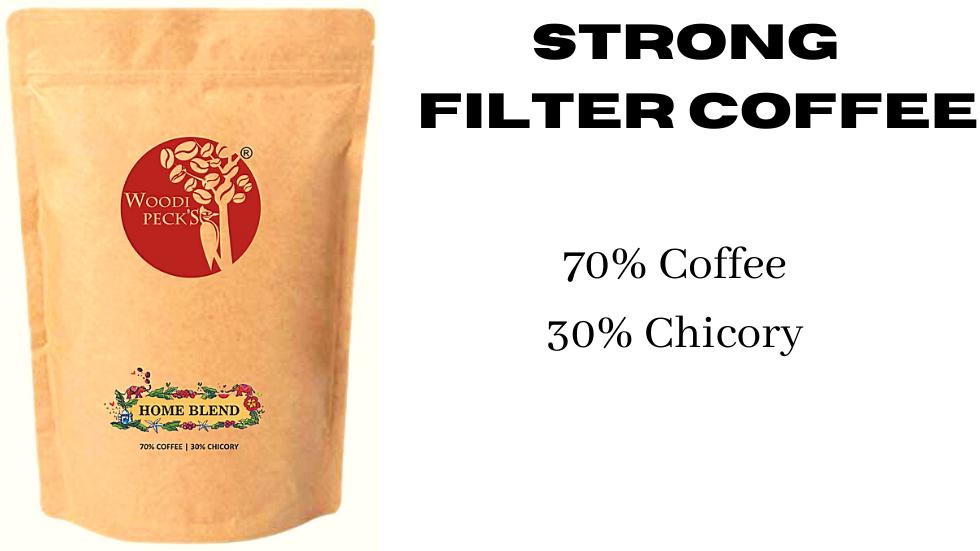 Woodi Peck's 70% Coffee 30% Chicory - 250g