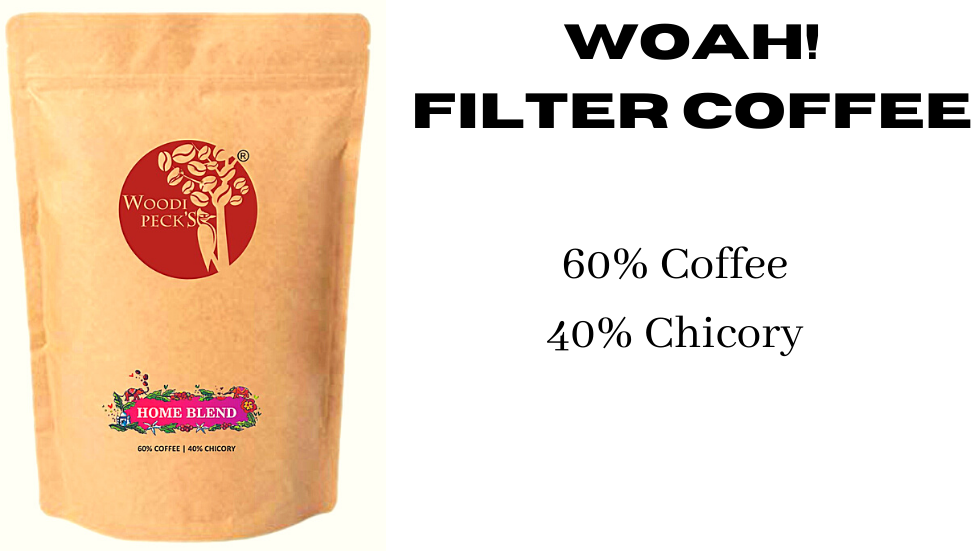 Woodi Peck's 60% Coffee 40% Chicory - 250g