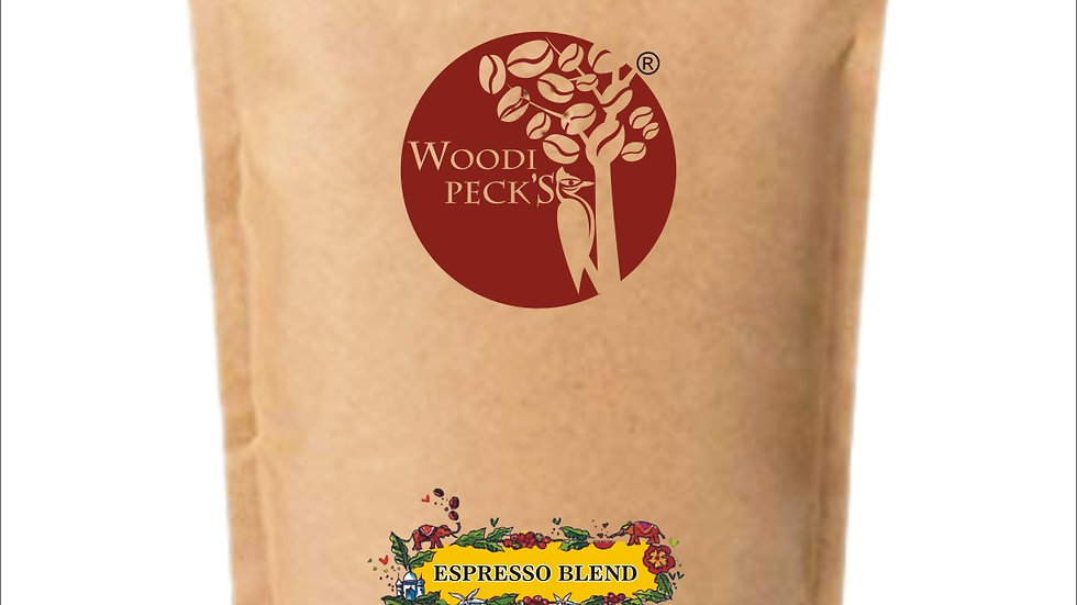 Woodi Peck's Espresso Blend - 250gms