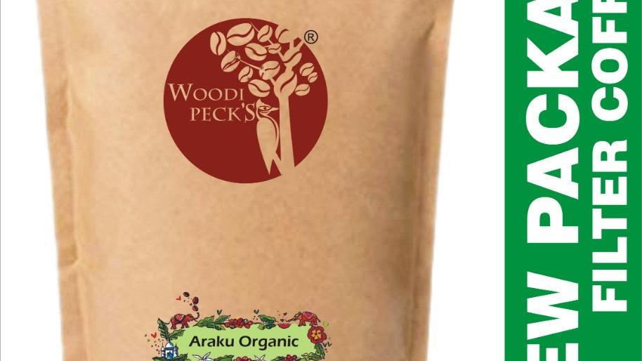 Woodi Peck's Araku Organic coffee - 250g