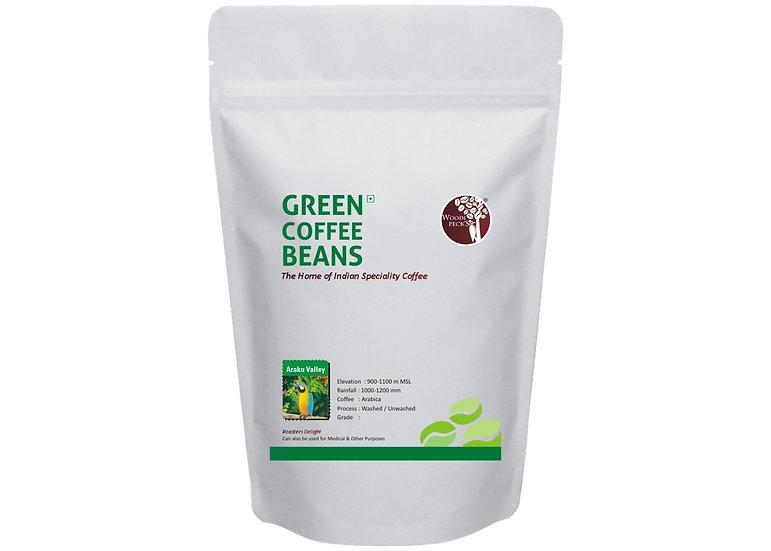 Araku Valley Green Coffee Beans, Single Origin 200g