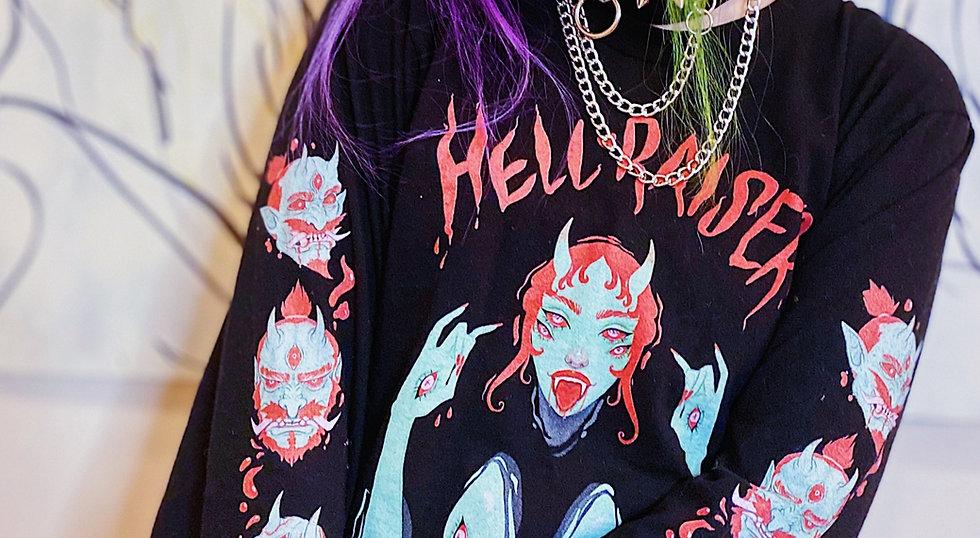 Hell Raiser - Long sleeve t-shirt