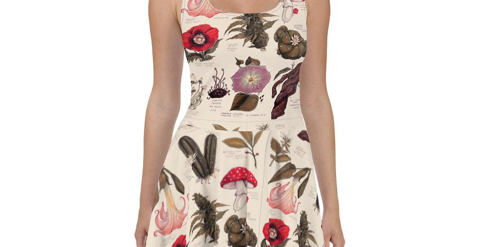 Sacred Plants Skater Dress