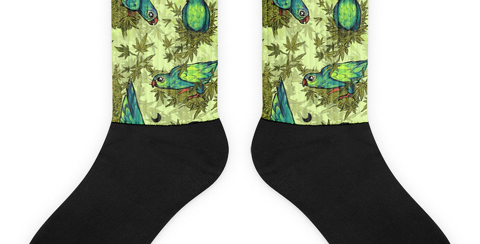 Weed Parrots - Socks