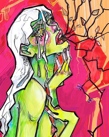 Throat of thorns