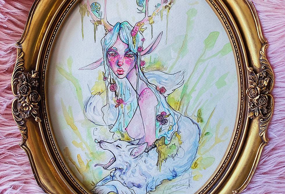 Wintersping - Watercolor
