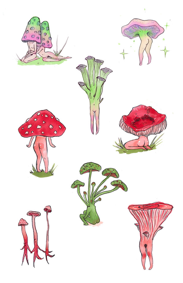 Mushroom Children 1