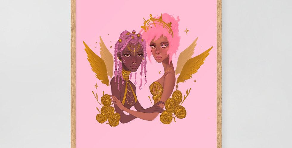 Black Girl Magic - Framed poster