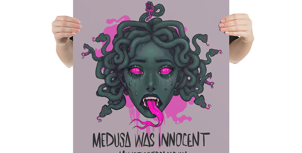 Justice For Medusa Poster