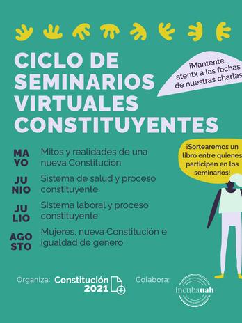 Ciclo de Seminarios Virtuales Constituyentes