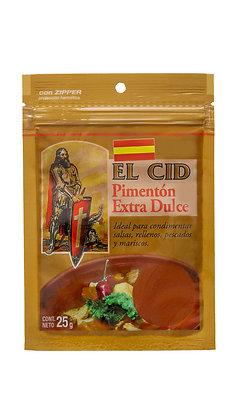 Zipper 25 grs de Pimenton Espanol Dulce EL CID