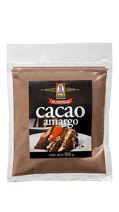 Zipper 100grs Cacao Amargo