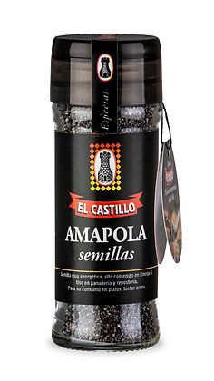 Frasco Linea Black 50 grs Amapola