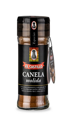 Frasco Linea Black 35 grs Canela en Molida