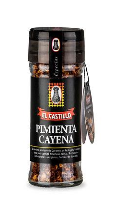 Frasco Linea Black 50 grs de Pimienta de Cayena Molida