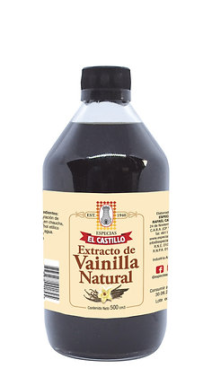 Botella 500cc Vainilla Liquida Natural