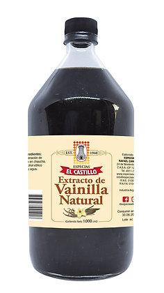 Botella 1Lt  Vainilla Liquida Natural