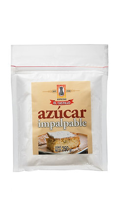 Zipper 250 grs Azucar Impalpable