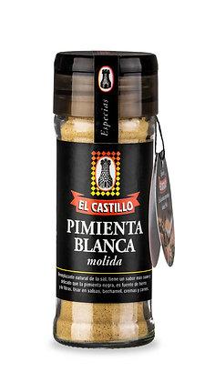 Frasco Linea Black 45grs de Pimienta Blanca Molida