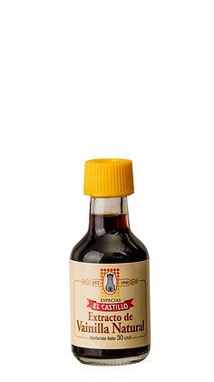 Botella 30cc Vainilla Liquida Natural