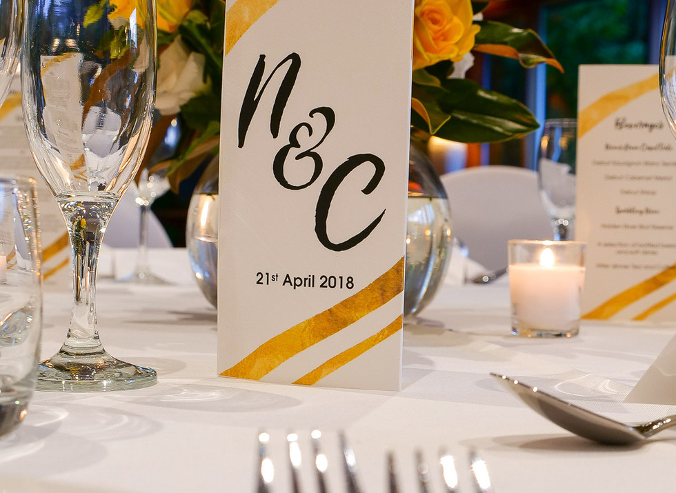 Table decoration wedding