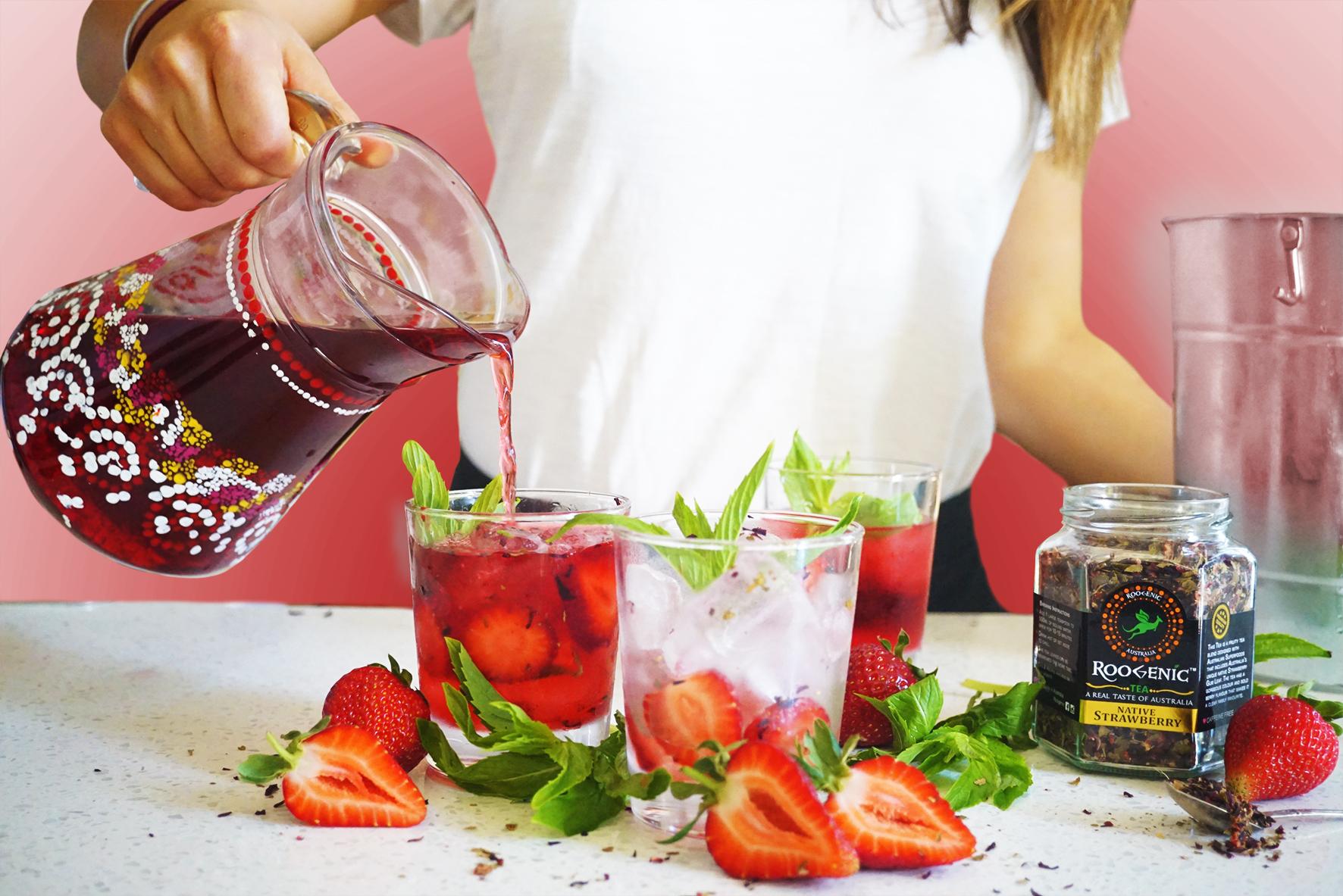 Iced Tea - Native Strawberry