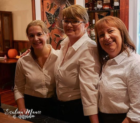 A few of our lovely Staff at the lodge!_