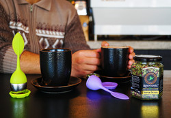Super Detox in Cafe with Infusers
