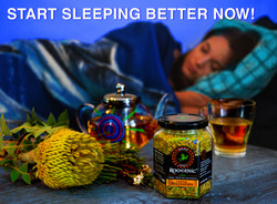 Native Relaxation - Femail Sleeping BLUE
