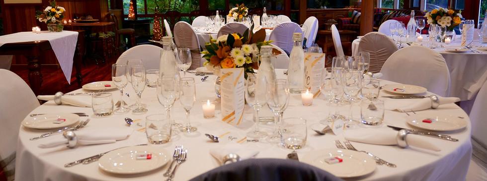 Table set up Wedding