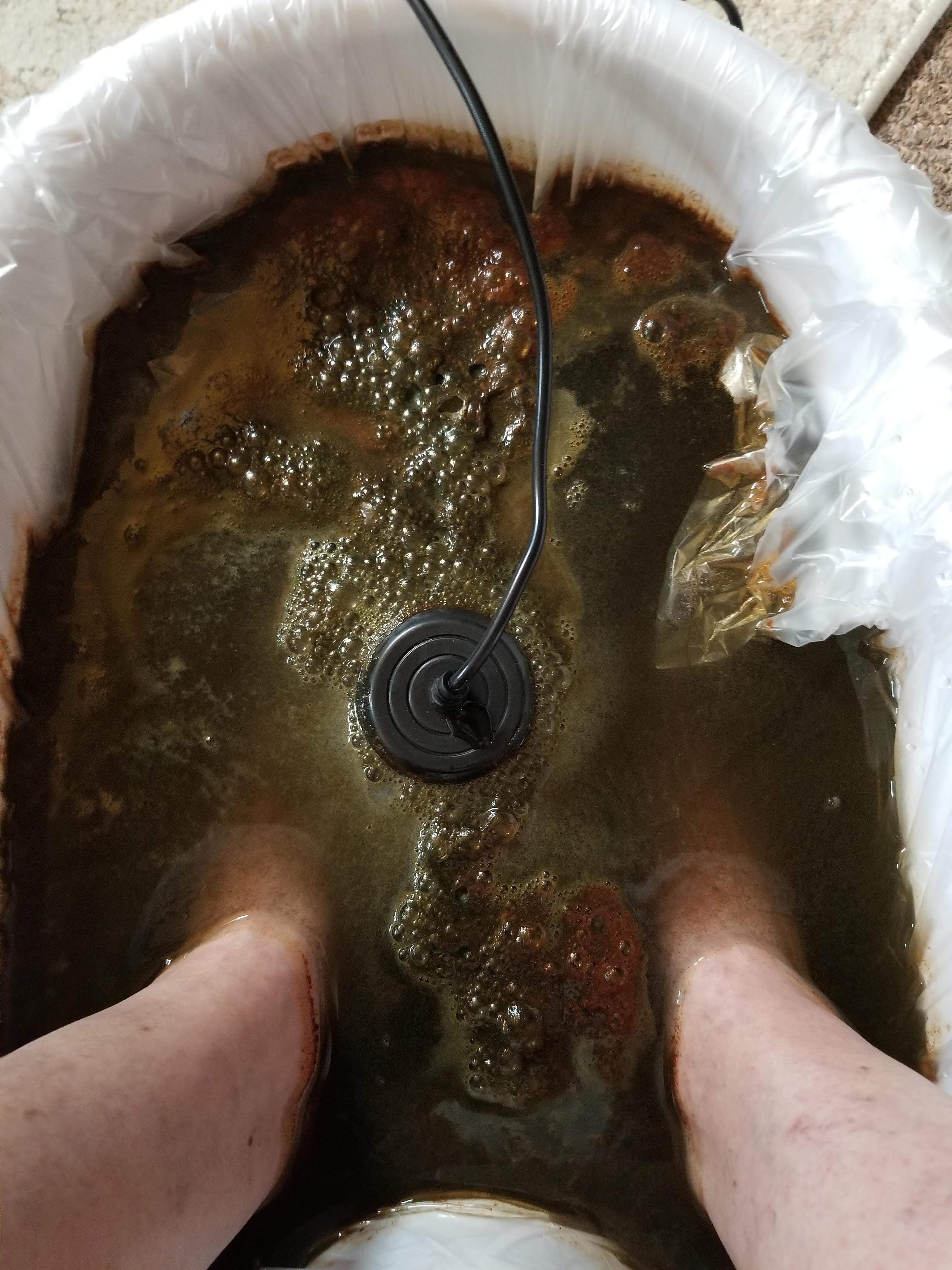 Foot Bath Ionic Body Detox