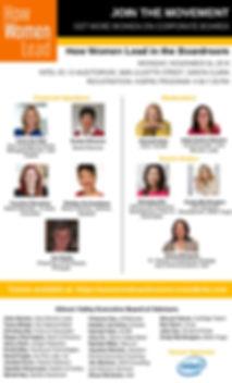 How Women Lead in the Boardroom - Nov 26