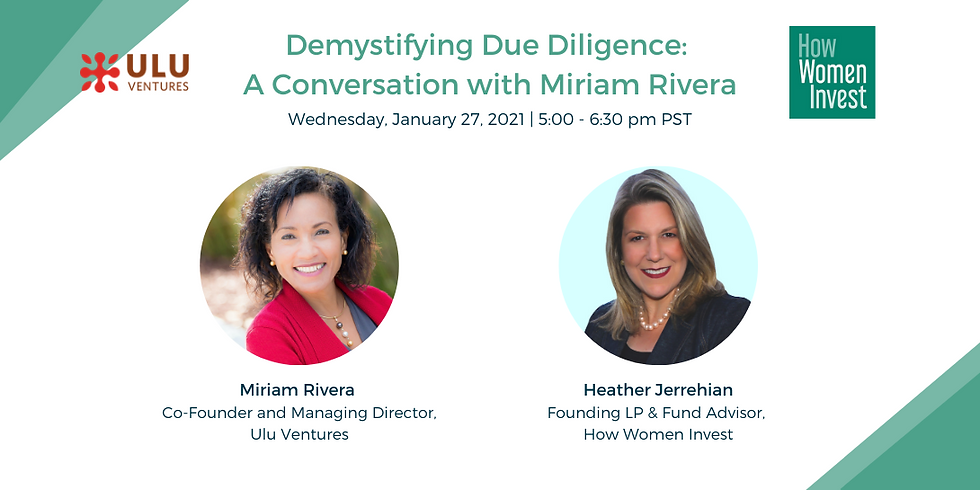 Demystifying Due Diligence: A Conversation with Miriam Rivera