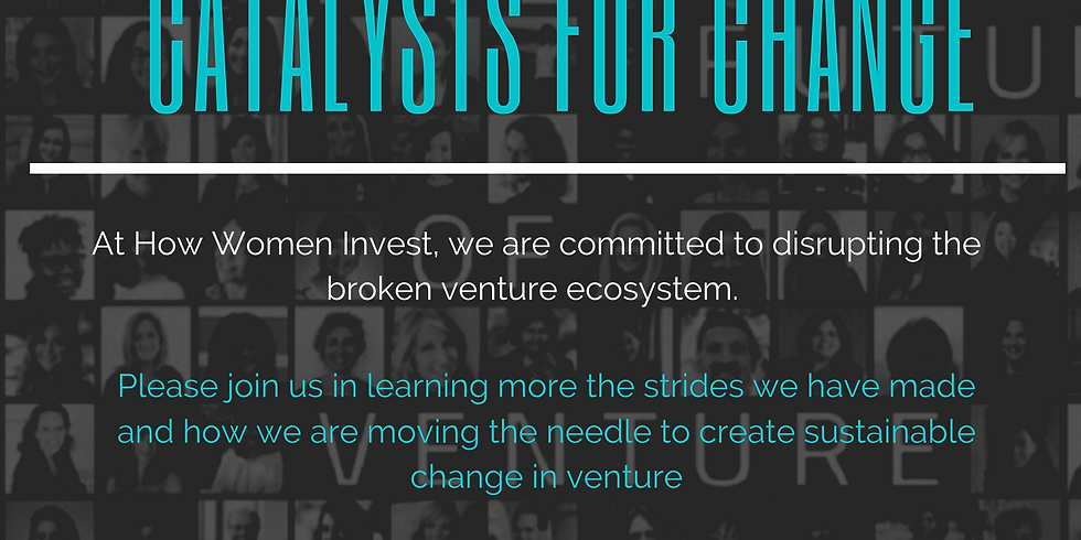 How Women Invest- Catalysts for Change