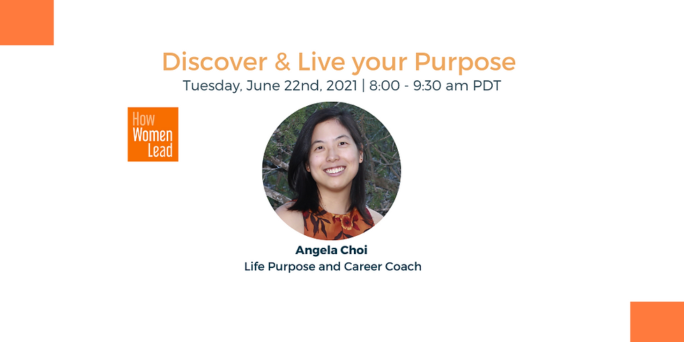 Discover & Live your Purpose
