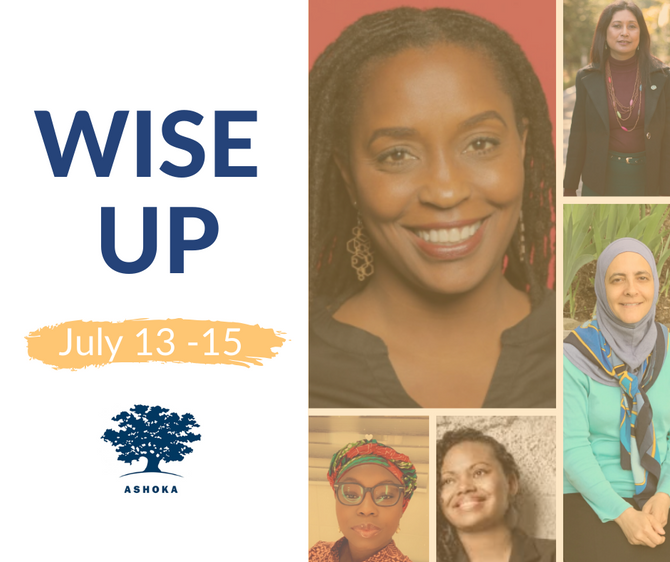 Partner Opportunity: Are you ready to get WISEr? Join us for Ashoka's online WISE Up Series