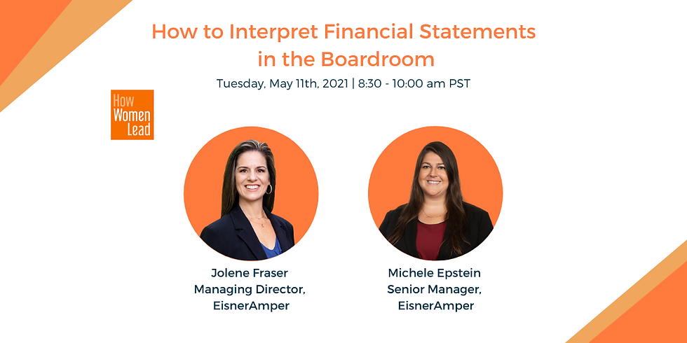 How to Interpret Financial Statements in the Boardroom