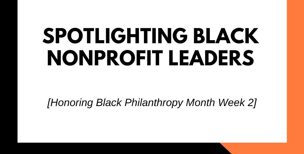 Spotlighting Black Nonprofit Leaders