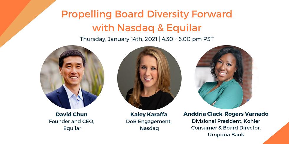 Propelling Board Diversity Forward with Nasdaq & Equilar