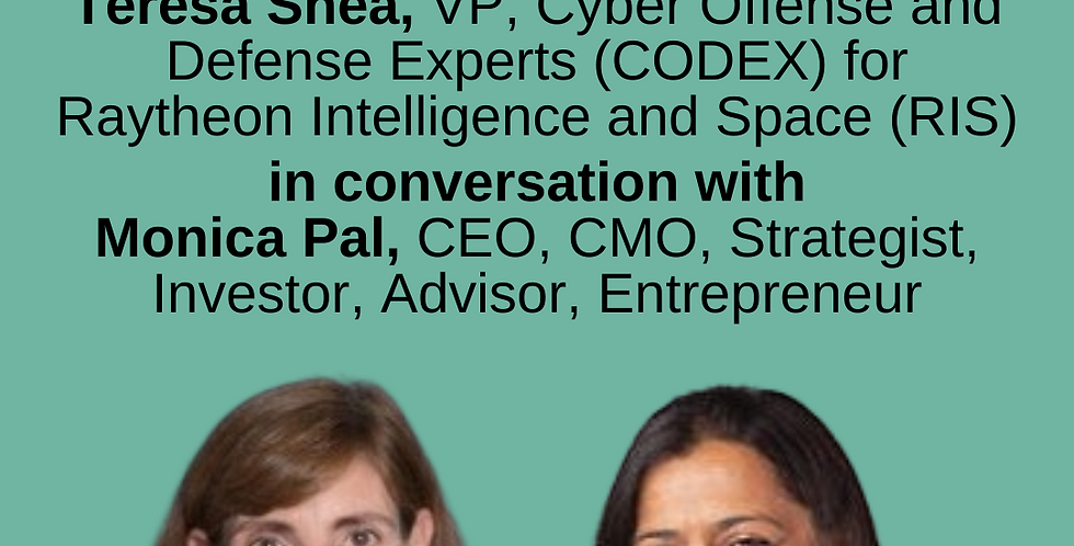 9:00-10:00am - Cybersecurity Fireside Chat