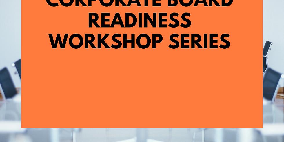 Corporate Board Readiness Workshop Series- September