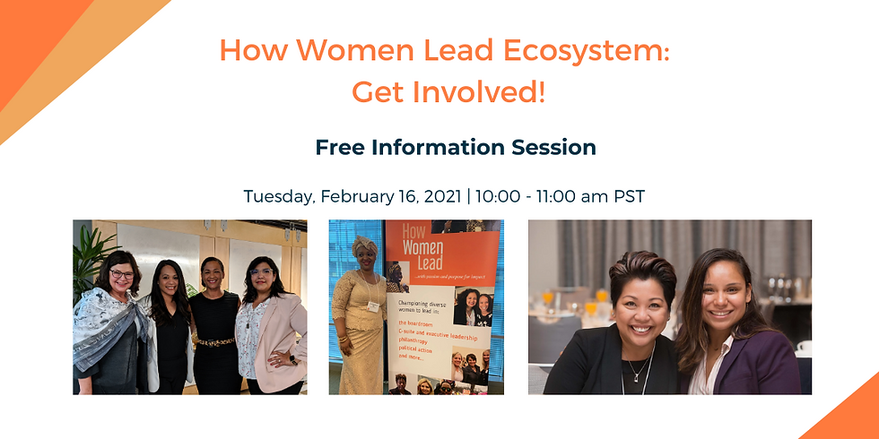 How Women Lead Ecosystem: Get Involved!