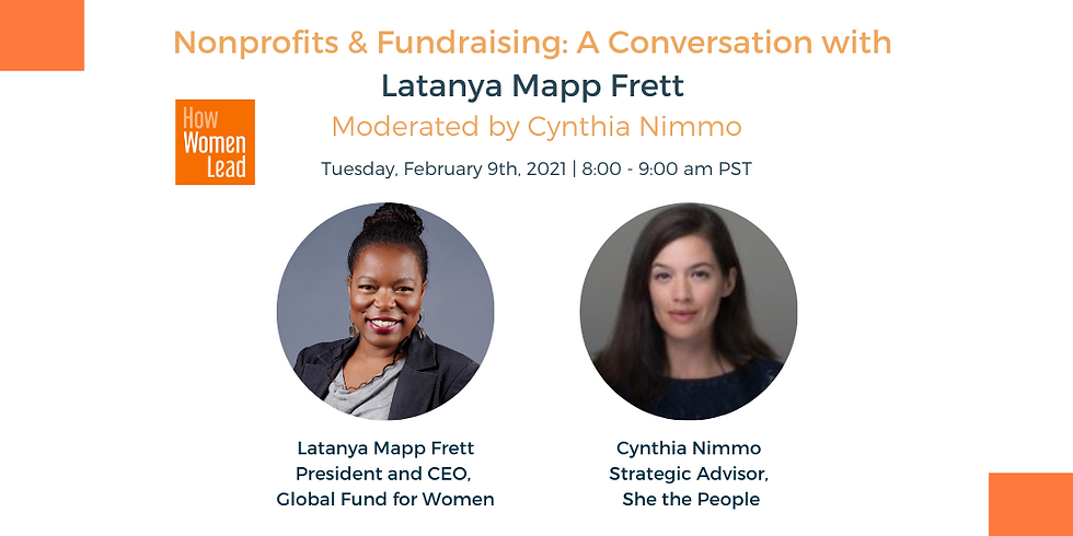 Women Leaders for the World - Nonprofits and Fundraising