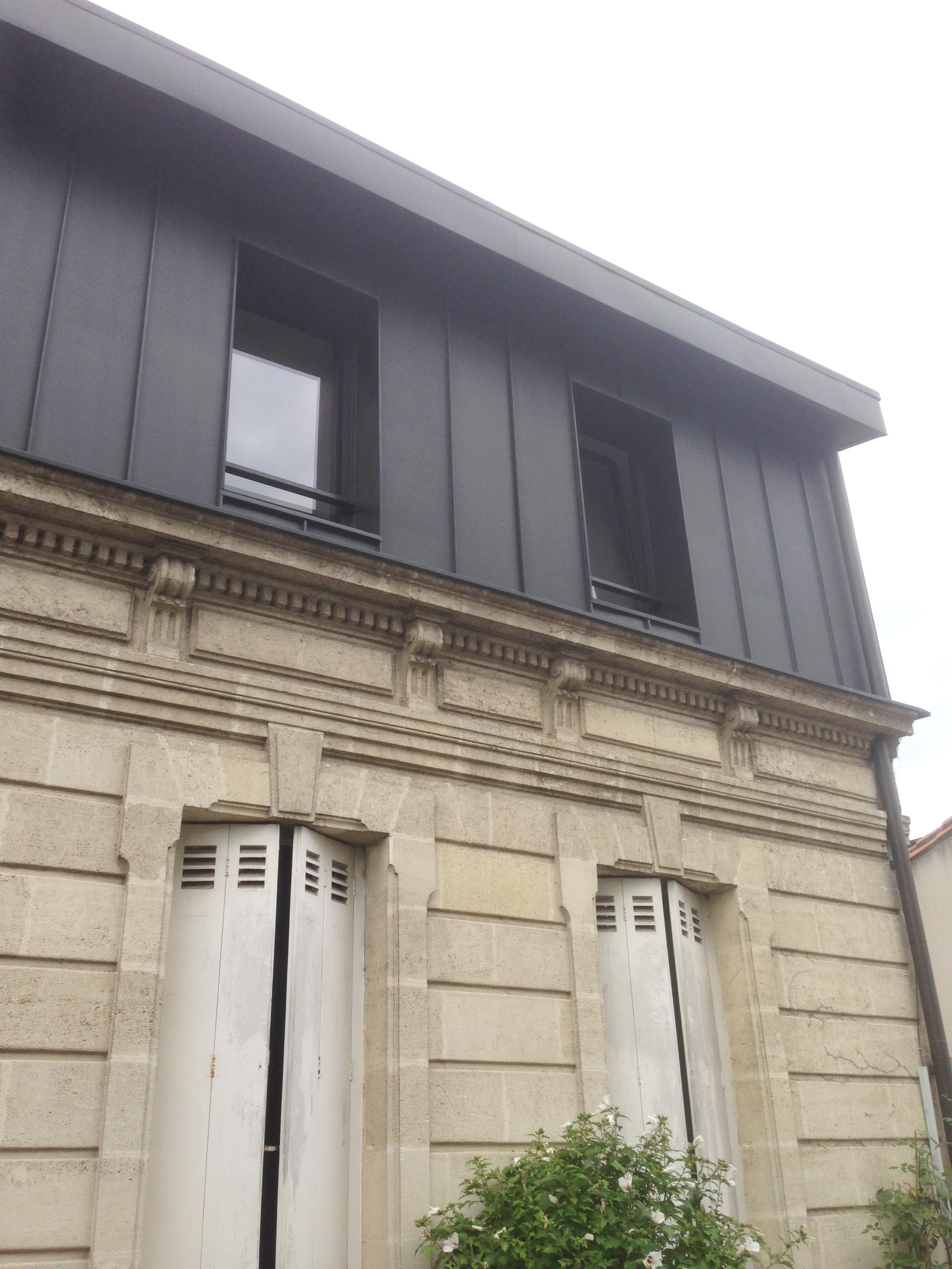 Surélévation Echoppe Le Bouscat