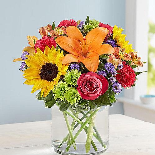 Southern Floral Embrace