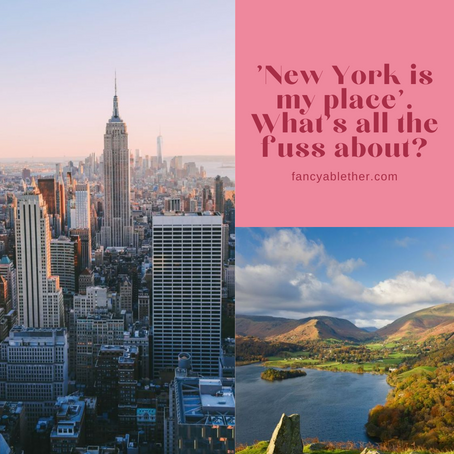 'New York is my place.' What's all the fuss about?