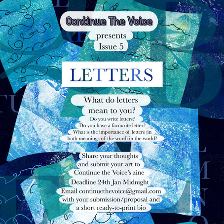 Submissions Open For Issue 5!