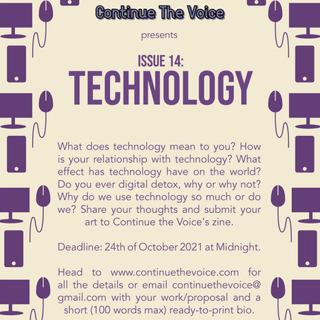Submissions Open for Issue 14: Technology