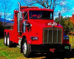 Big Red - Waynes Towing - Vermont